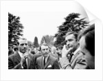 1966 England World Cup team visit Pinewood Studios by Staff