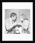 Richard Briers and Prunella Scales by Malcolm McNeill