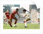 FA Cup Semi Final match between Liverpool and Nottingham Forest 1989 by Staff