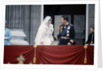 Princess Diana and Prince Charles on the balcony of Buckingham Palace by MSI
