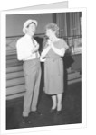 Dame Edith Evans and Max Bygraves by Eatwell