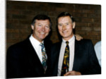 Manchester United manager Alex Ferguson by Featherstone