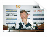 Manchester United manager Alex Ferguson by Eric Graham