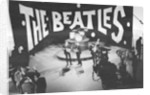 The Beatles on Ed Sullivan television programme by Staff