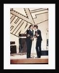Paul McCartney and George Harrison by Staff