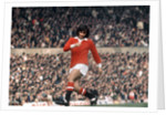 George Best action for  Manchester United October 1971. by Staff