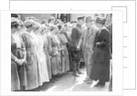 David Lloyd George munitions workers inspection by Staff