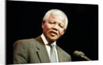 Nelson Mandela in Birmingham, 1993 by Julie Bull