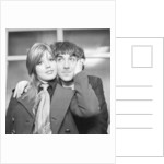 Keith Moon and wife Kim by Charlie Ley