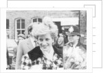 Princess Diana at Middlesbrough Station 1987 by Staff