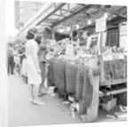 Soho Berwick Market 1963 by Staff