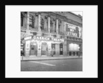 Exterior view of the Garrick Theatre 1958 by Staff