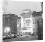 Exterior view of the Leicester Square Theatre 1958 by Staff