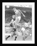 Gary Pallister wins an ariel battle against Coventry in Middlesbrough's 1-1 by Staff