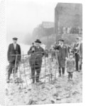 Planting of the Penny Hedge by Staff