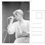 David Bowie 1978 by Allan Olley