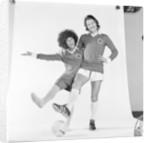 Frank worthington and Linda Lewis 1974 by Doreen Spooner