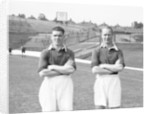 Jack Oakes and Don Welsh by Reg Sayers