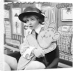Prunella Scales by Daily Herald