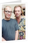Rik Mayall and Ade Edmondson, 1991 by Wright
