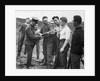 Jacob Epstein gets bayonet training 1917 by Staff