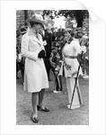 The Princess Royal meets Drum Majorette Sylvia Moran, of the Washington Grey's Jazz Band. by Staff