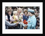 Queen visit to Australasia1981 by Mike Maloney