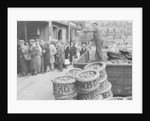 Tomatoes at Covent Garden 10th June 1942. by Staff