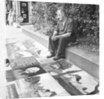 Pavement artist, 1946 by Staff