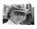 Niki Lauda, 1978 by Charlie Ley