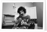 Frank Zappa, pictured in London in 1971 by Rowntree