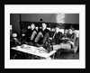 The Beatles at The Prince of Wales Theatre in London, take a break during rehearsals for the next days The Royal Variety Command Performance. November 1963. by Illingworth