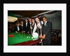 Steve Davis visits Courage brewery, 1995 by Staff