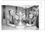 Billy McNeill & Ronnie Glavin, 1975 by Randolph Caughie