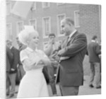 Barbara Windsor on the film set of Carry On Doctor. by Staff