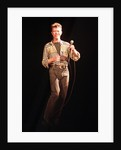 David Bowie performing at The Big Twix Mix concert atThe Birmingham NEC. by Staff