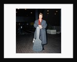 David Bowie at London Airport. by Crawshaw