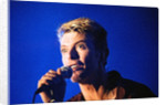 David Bowie performing on stage at The Barrowlands in Glasgow. Scotland. by John Gunion