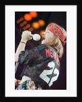 Guns N' Roses on stage, 1992 by Nigel Wright