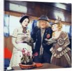 Una Stubbs as Aunt Sally, Jon Pertwee as Worzel and Barbara Windsor as Saucy Nancy by Anonymous