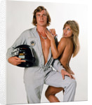 James Hunt with Sue Shaw by Anonymous