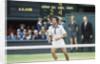 Arthur Ashe Wimbledon 1975 by J. Dempsie