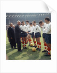 England International Football 1960s by Anonymous