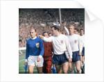 England International Football 1960s by Monte Fresco