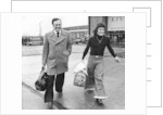 Don Revie at Liverpool Airport with Kevin Keegan by Anonymous