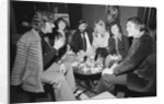 George Best with friends at his night club Slack Alice in Manchester by Swindles