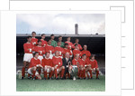 Manchester United Football Team Squad 1968 / 1969 by Library