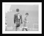 English League Division One match at Stamford Bridge. Chelsea 1 v Manchester United 1. by Monte Fresco
