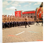 May Day Parade in Red Square, Moscow by Kent Gavin