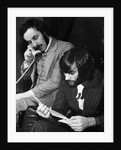 George Best and his business partner Malcolm Mooney by Staff